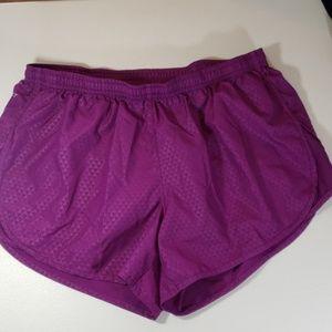 Nike dri-fit running shorts size M